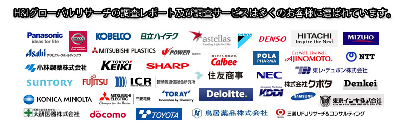 H&Iグローバルリサーチ株式会社が運営。市場調査サービス、情報コンテンツ販売。